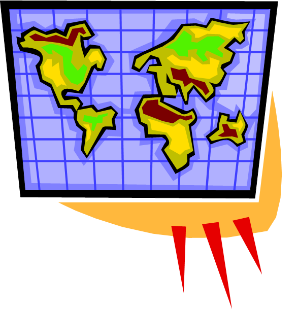 World Cartoon Drawing Cartoon Drawing of World Map