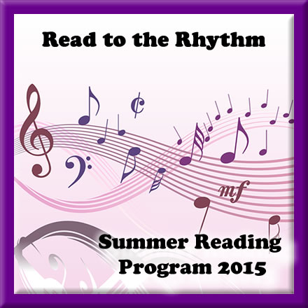 Read to the Rhythm Summer reading Program 2015 Button