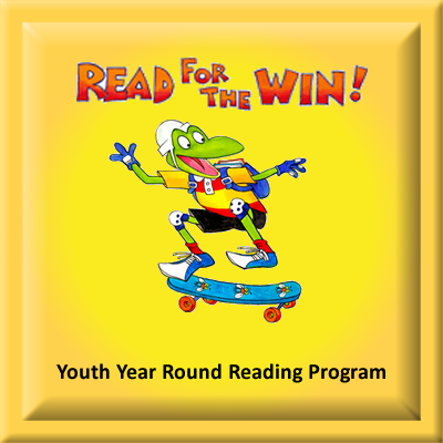 Youth Year Round Reading Program Button